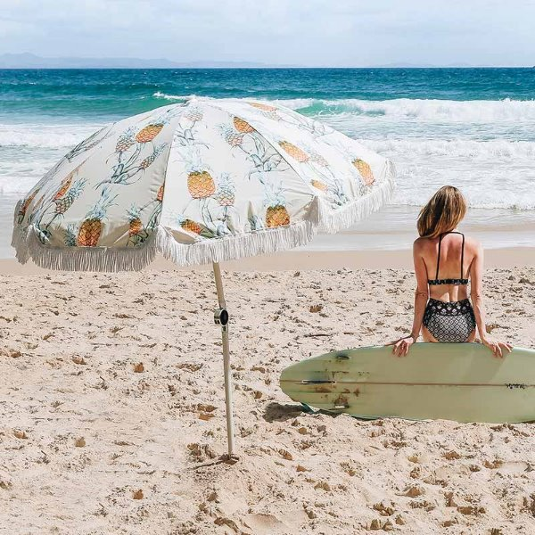 바질뱅스 Basil Bangs Premium Umbrella - Ananas for Surf Lodge
