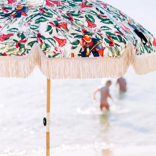 바질뱅스 Basil Bangs Beach Umbrella - Amazonia