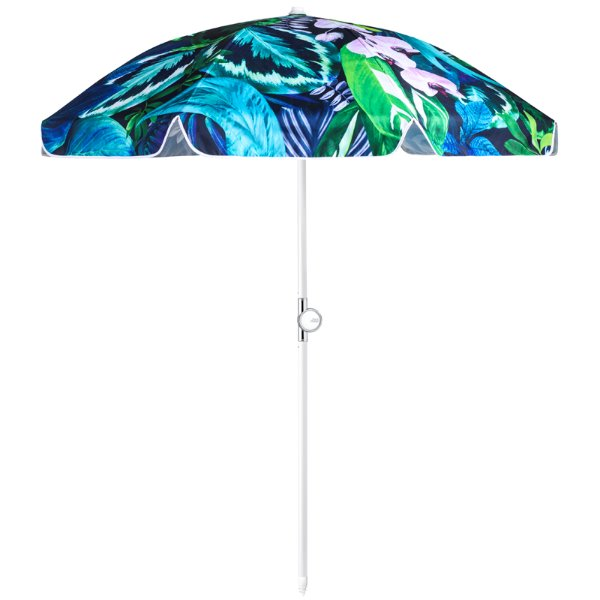 바질뱅스 Basil Bangs Beach Umbrella - Botanica by Louise Jones