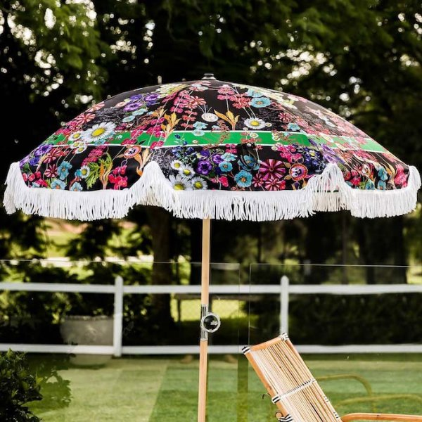 바질뱅스 Basil Bangs Premium Umbrella - Day Tripper by Cynthia Rowley