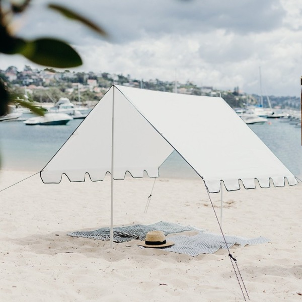 바질뱅스 Basil Bangs Beach Tent - Salt(4월말 입고)